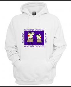 Peppa Pig Family Gucci Purple Hoodie