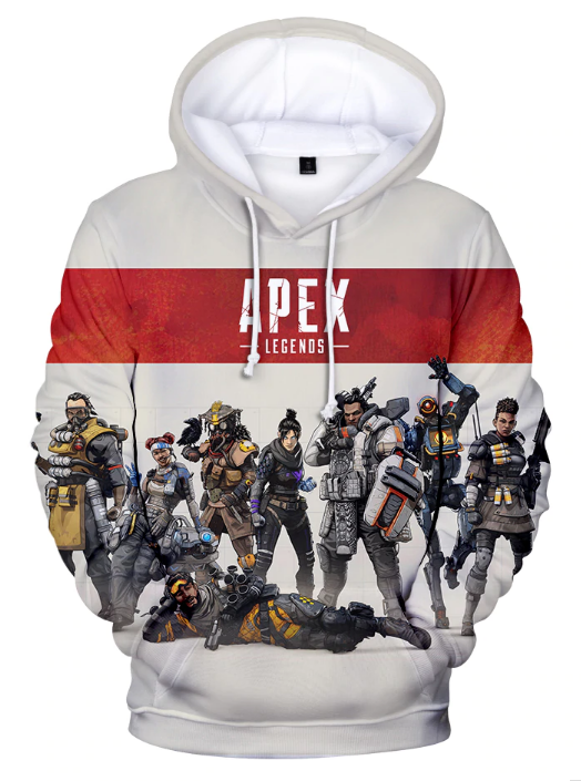 Apex Legends Squad Champion Full Print 3D Hoodie