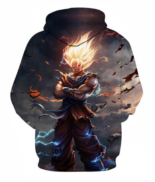 Dragon Ball Full Print 3D Hoodie