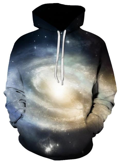 Galaxy Space Full Print 3D Hoodie