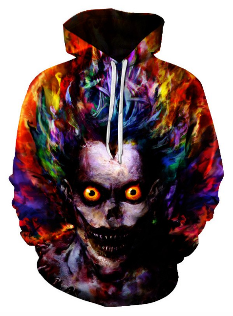 Joker Clown Full Print 3D Hoodie