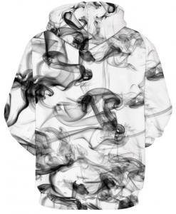 Smoke Illusion Full Print 3D Hoodie