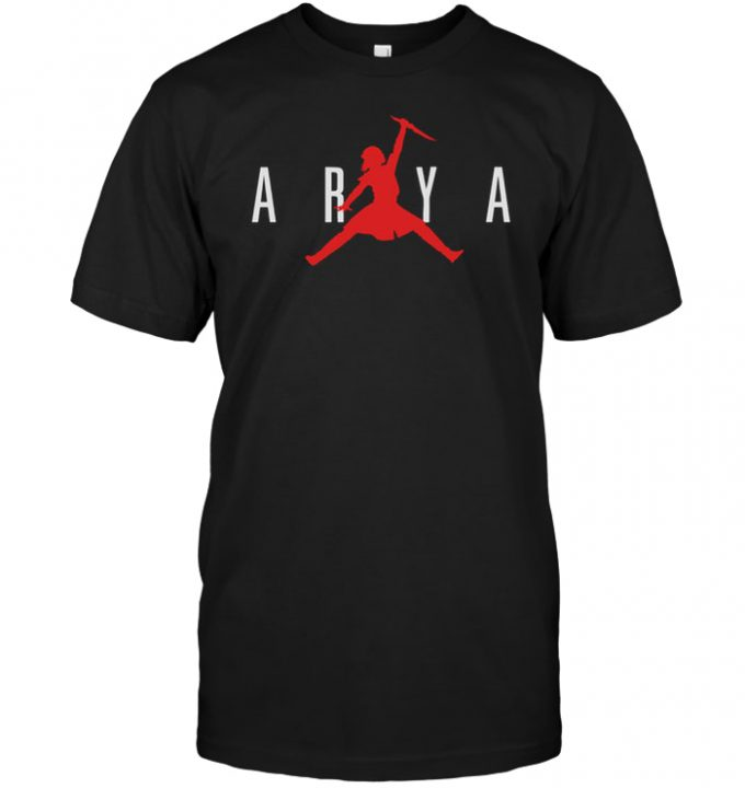 Air Arya Stark Fight T-shirt