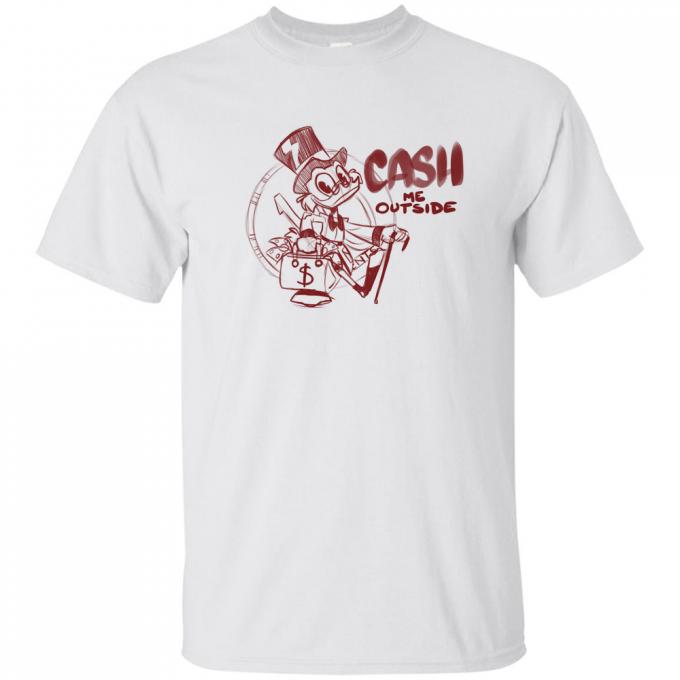 Donald Duck Cash Me Outside T-shirt