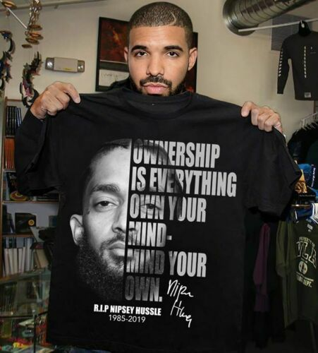 Nipsey Hussle Ownership Is Everything Own Your Mind T-shirt