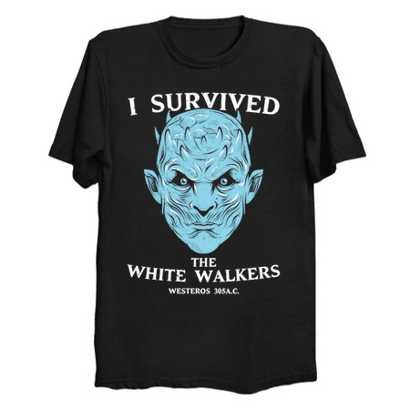 White Walker Survivor shirt