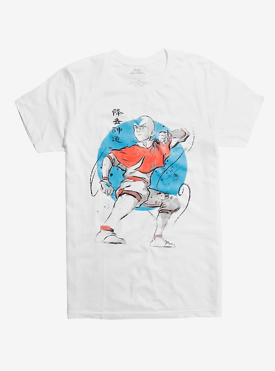 Avatar The Last Airbender Aang T-Shirt