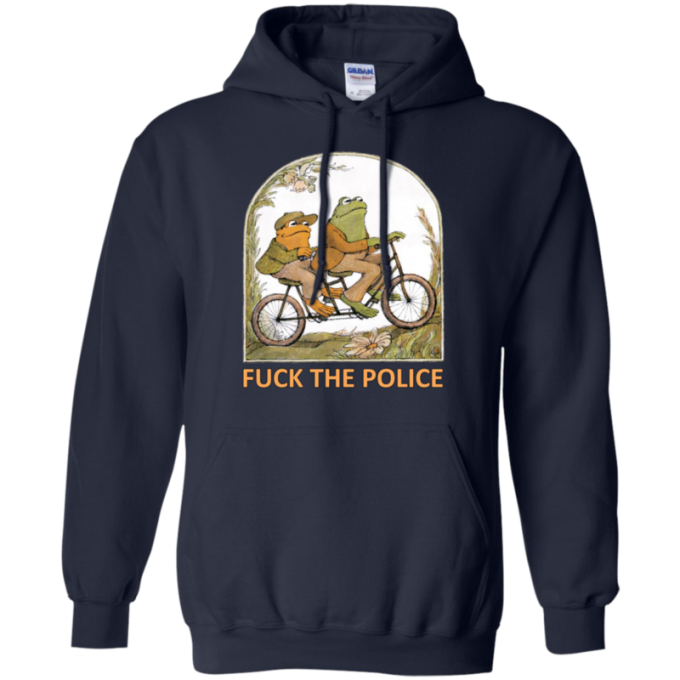 Frog And Toad Fuck The Police Hoodie