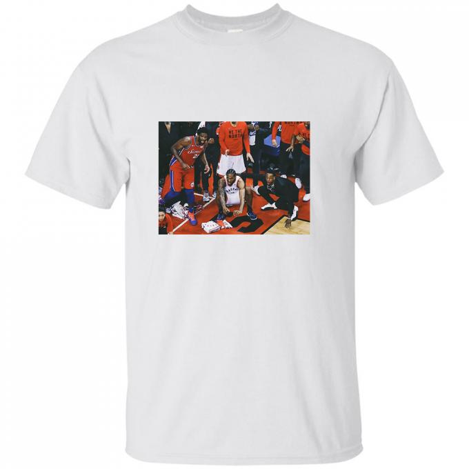 Kawhi Expression Shot The Last Ball T-shirt