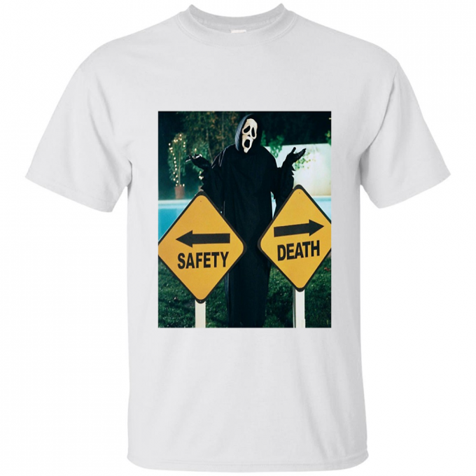 Safety Or Death Scary Movie T-shirt
