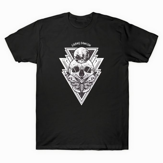 Shane Dawson All Seeing Eye Skull T-shirt