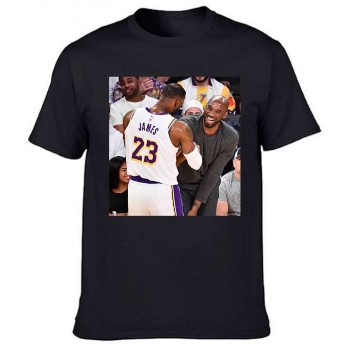 The Memories Of Lebron James With Kobe Bryant T Shirt By Clothenvy